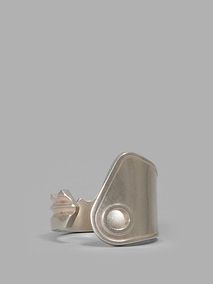 Maison Margiela Sterling Silver Key Ring