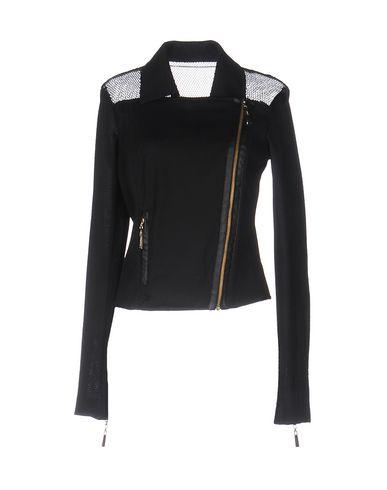 Just Cavalli Biker Jacket In Black