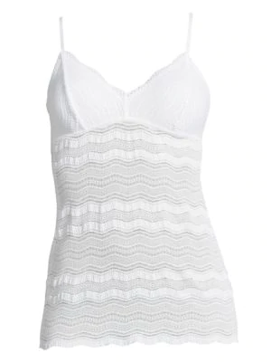 Cosabella Women's Dolce Long Camisole In White