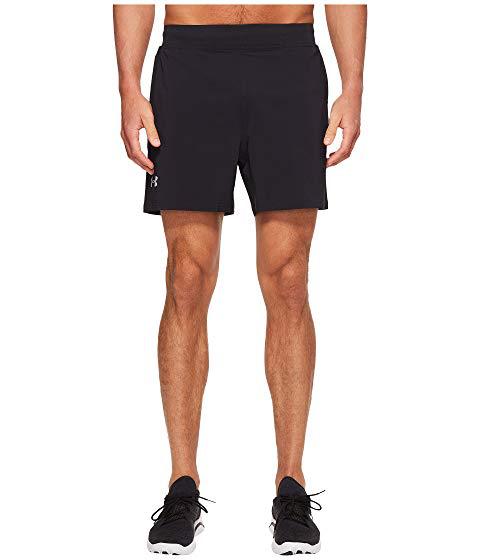 "Under Armour Ua Speedpocket 5"" Stretch Woven Shorts, Black/Black"