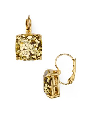 Kate Spade New York Square Drop Earrings In Gold