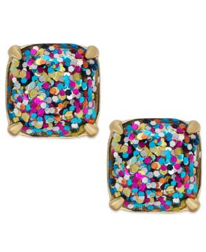 ae5fbb2fb Kate Spade Small Square Glitter Stud Earrings In Multicolor Modesens