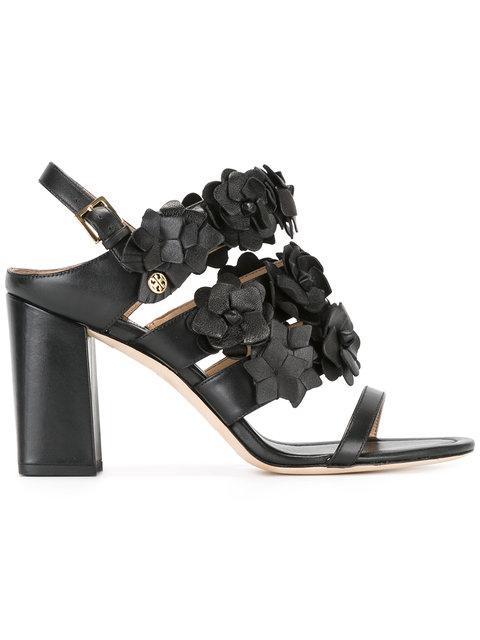 Tory Burch Blossom 65mm Sandal In Black