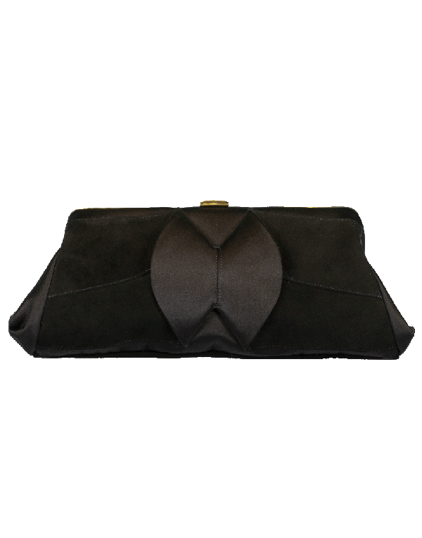 Charlotte Olympia Uptown Clutch In Black