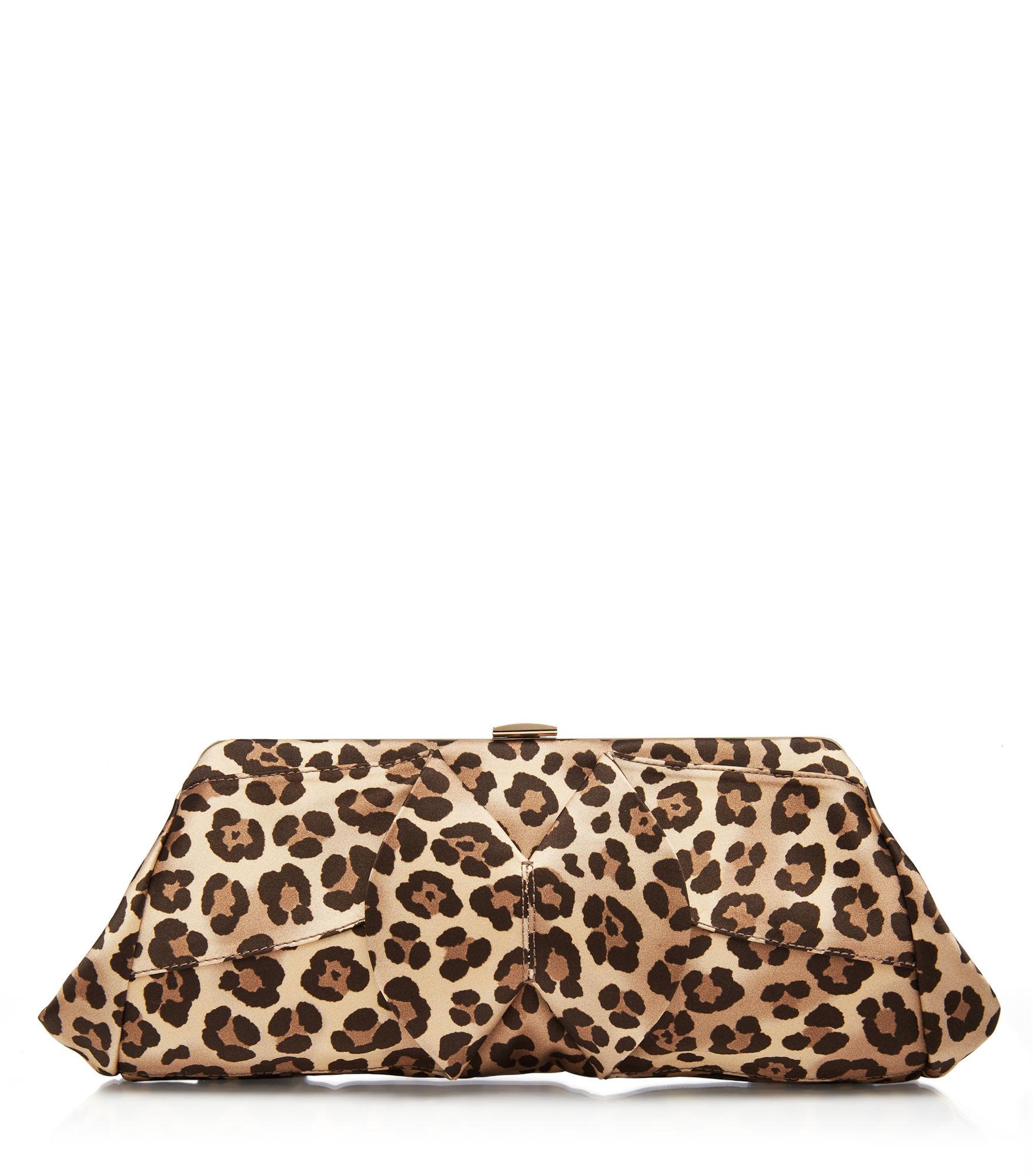 Charlotte Olympia Uptown Clutch In Leopard