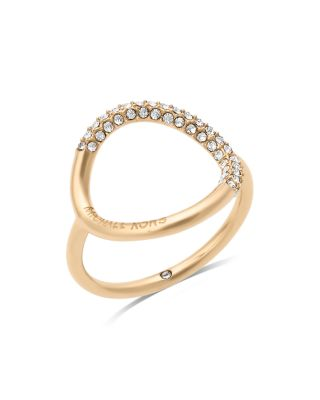 Michael Kors Open Circle Ring In Gold