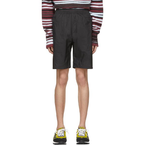3187ece3a1 Acne Studios Romeo Elasticated Shorts In Black | ModeSens