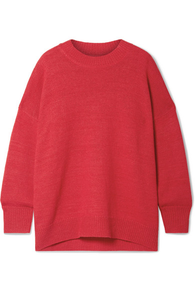 Etoile Isabel Marant Gae Alpaca-Blend Sweater In Red