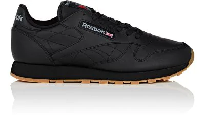 a3fd0038c3f Reebok Men s Classic Leather Casual Gum Kl Sneakers From Finish Line In  Black