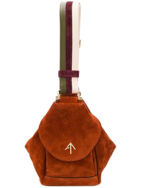 Manu Atelier Fernweh Tote Bag In Brown
