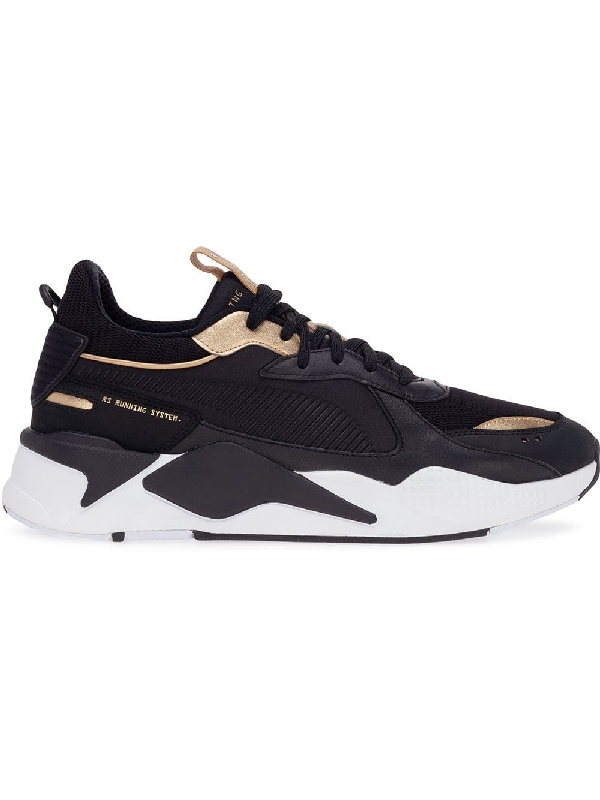 low priced 06446 067a3 Puma Men s Rs-X Trophy Running Sneakers In Black