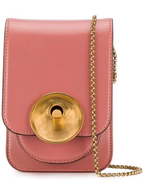 Marni Monile Crossbody Bag - Pink