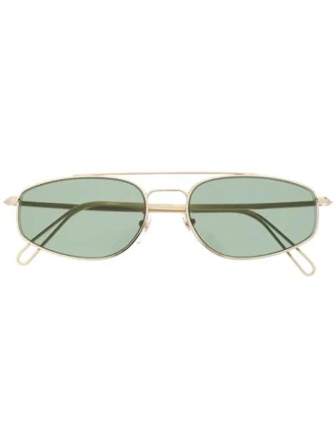Retrosuperfuture Tema Sunglasses In Gold