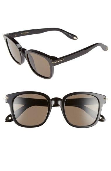Givenchy Wayfarer Acetate Sunglasses, 56mm In Black