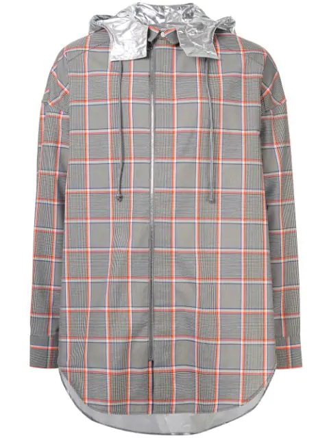 Juun.J Checked Shirt In Multicolour