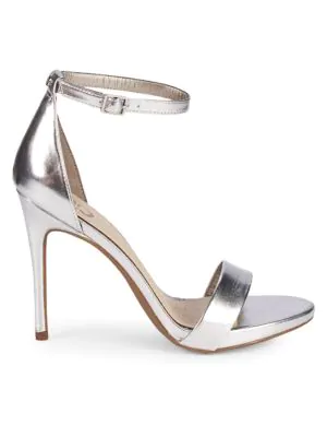 ca8324921a2 Circus By Sam Edelman Angela Ankle-Strap Stiletto Sandals In Silver ...