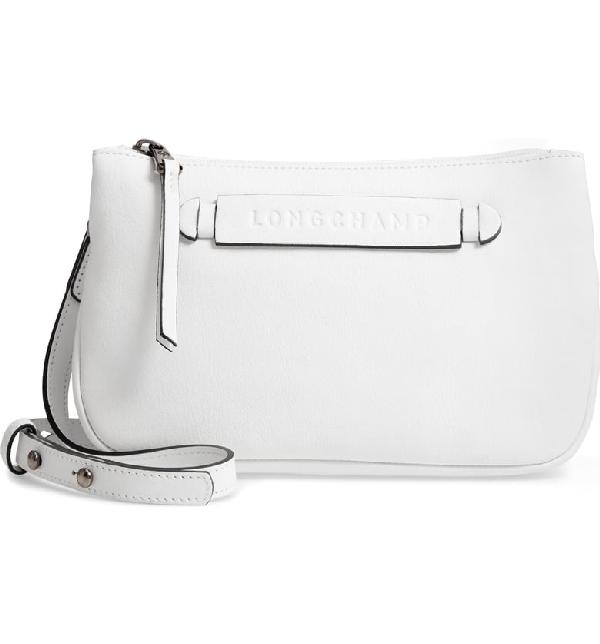 6badacf30ee Longchamp 3D Leather Crossbody Bag - White   ModeSens