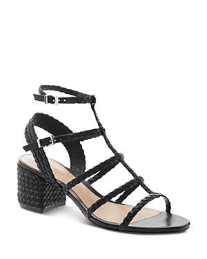 fac42063df05 Schutz Women s Rosalia Strappy Block-Heel Sandals In Black