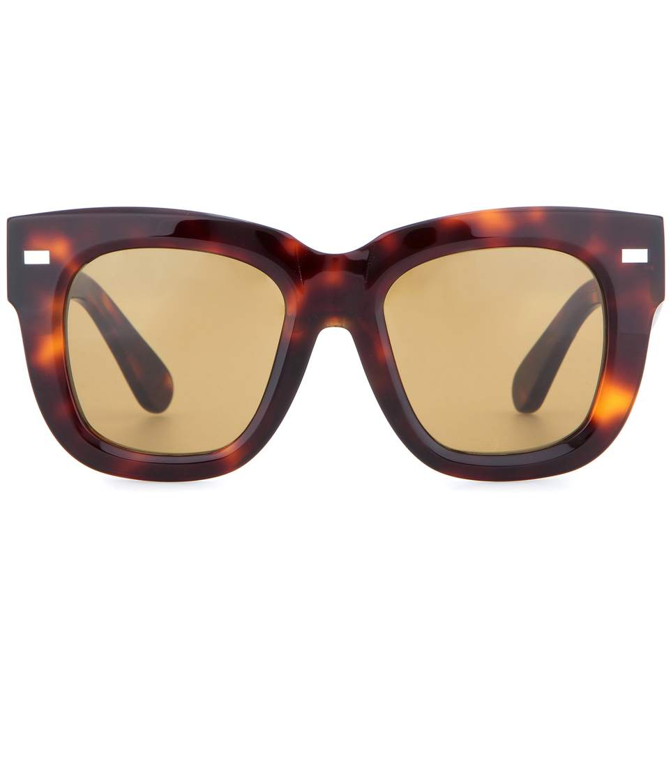 bd72a38c29 Acne Studios Library Metal Turtle Sunglasses In Brown