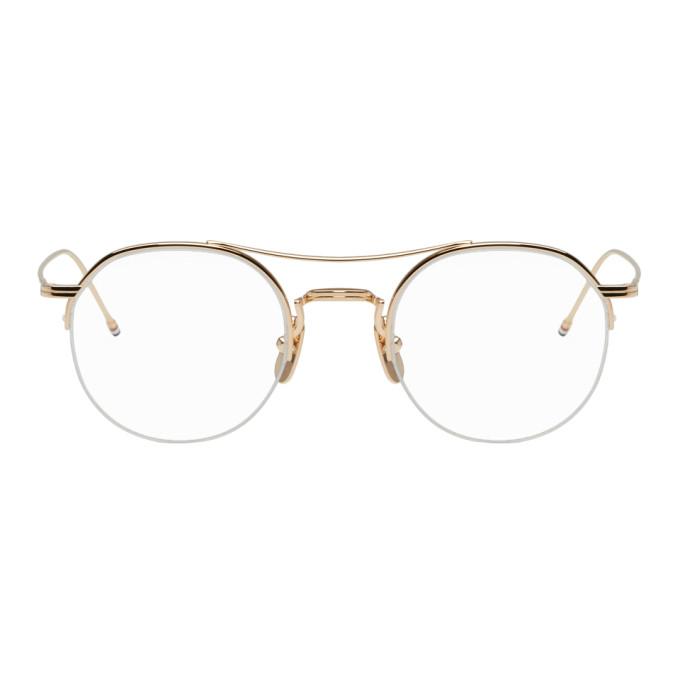 fbfb7a7903b5 Thom Browne Gold Tb-903 Glasses