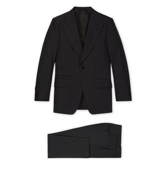 Tom Ford Black Silk Shelton Suit