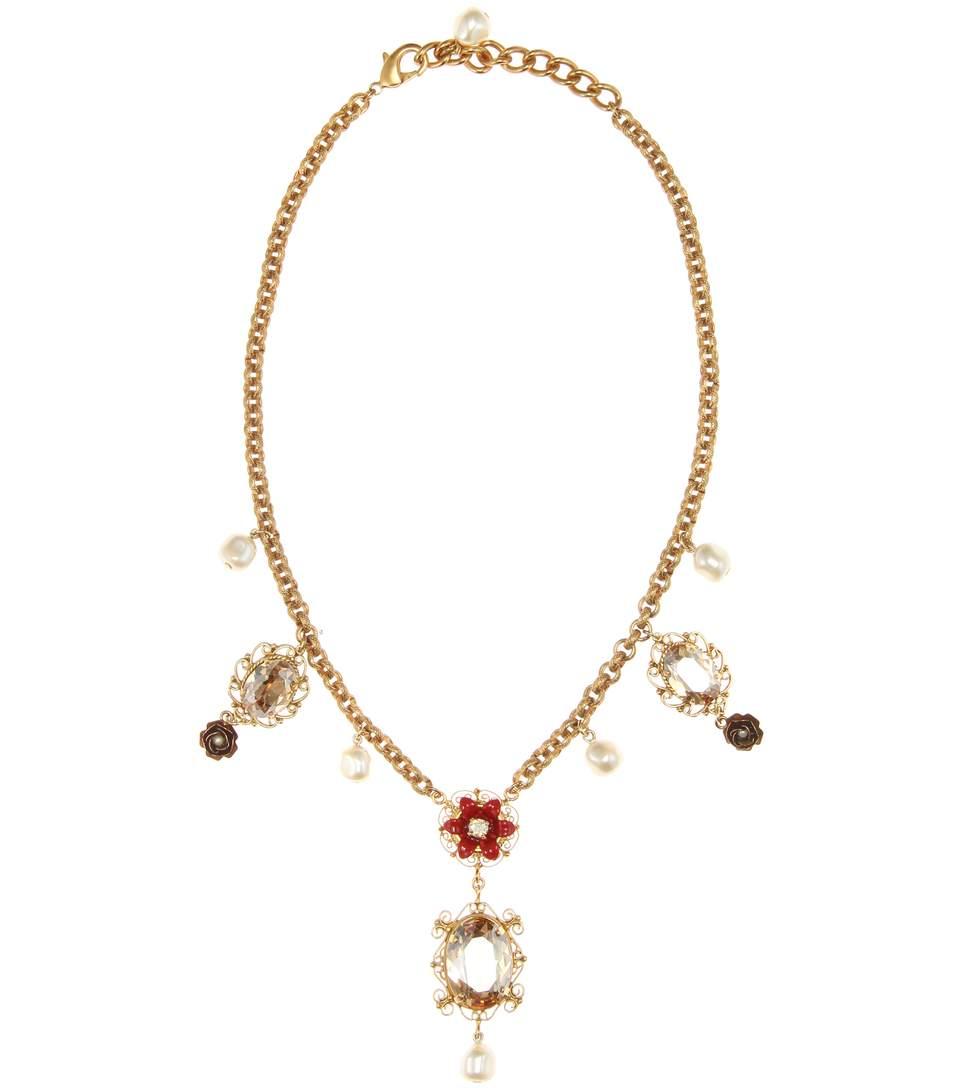 Dolce & Gabbana Exclusive To Mytheresa.com – Embellished Necklace