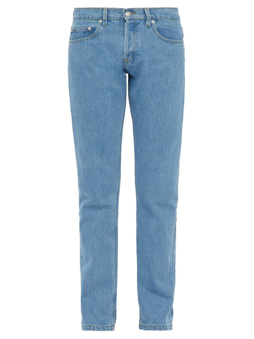 ÉDitions M.R Max Tapered Denim Jeans In Blue