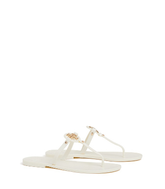 31ef4d8a4d4 Tory Burch Mini Miller Jelly Thong Sandals In White