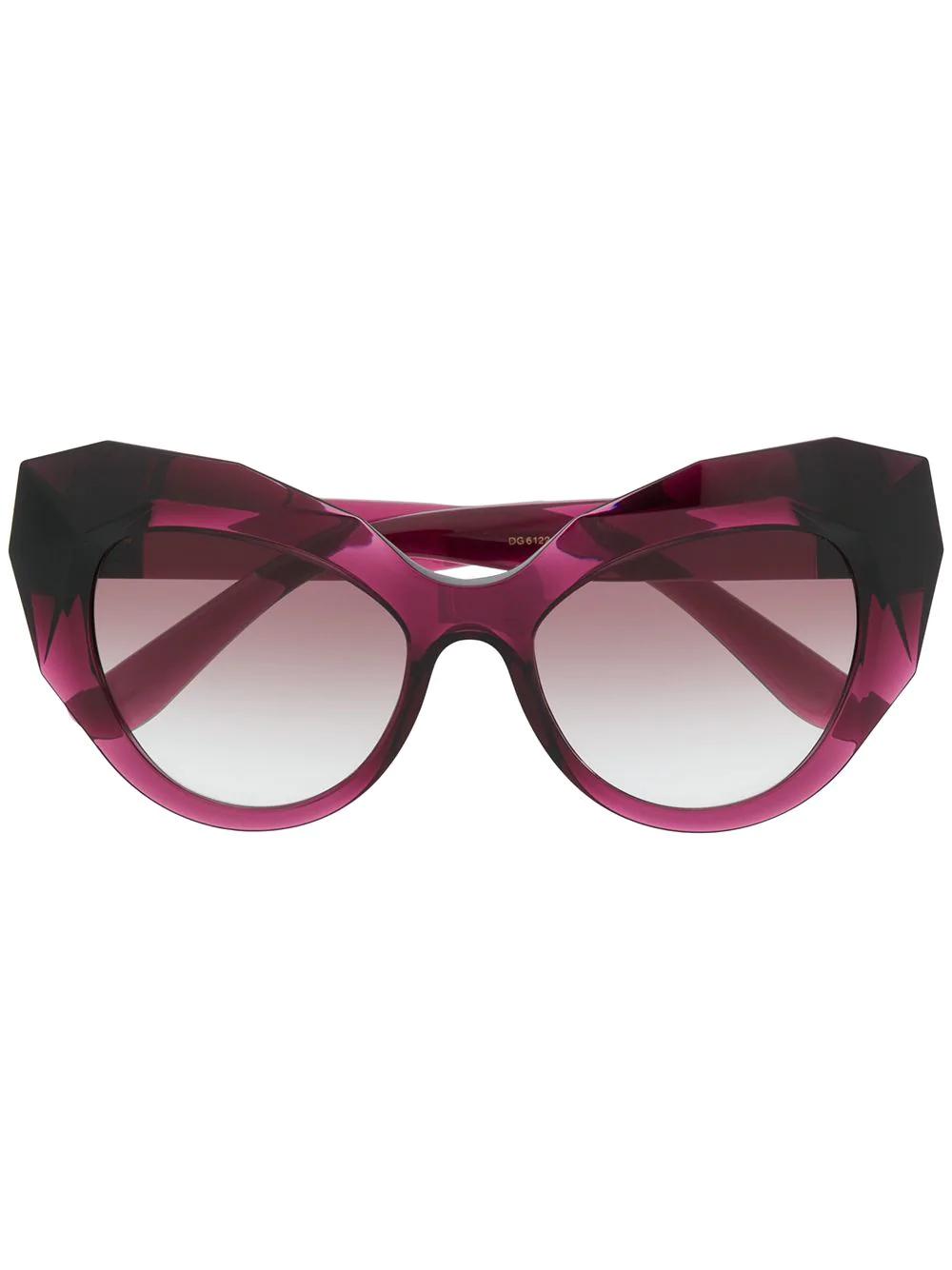 6509228f6705 Dolce   Gabbana Eyewear Oversized Cat Eye Sunglasses - Pink. Farfetch