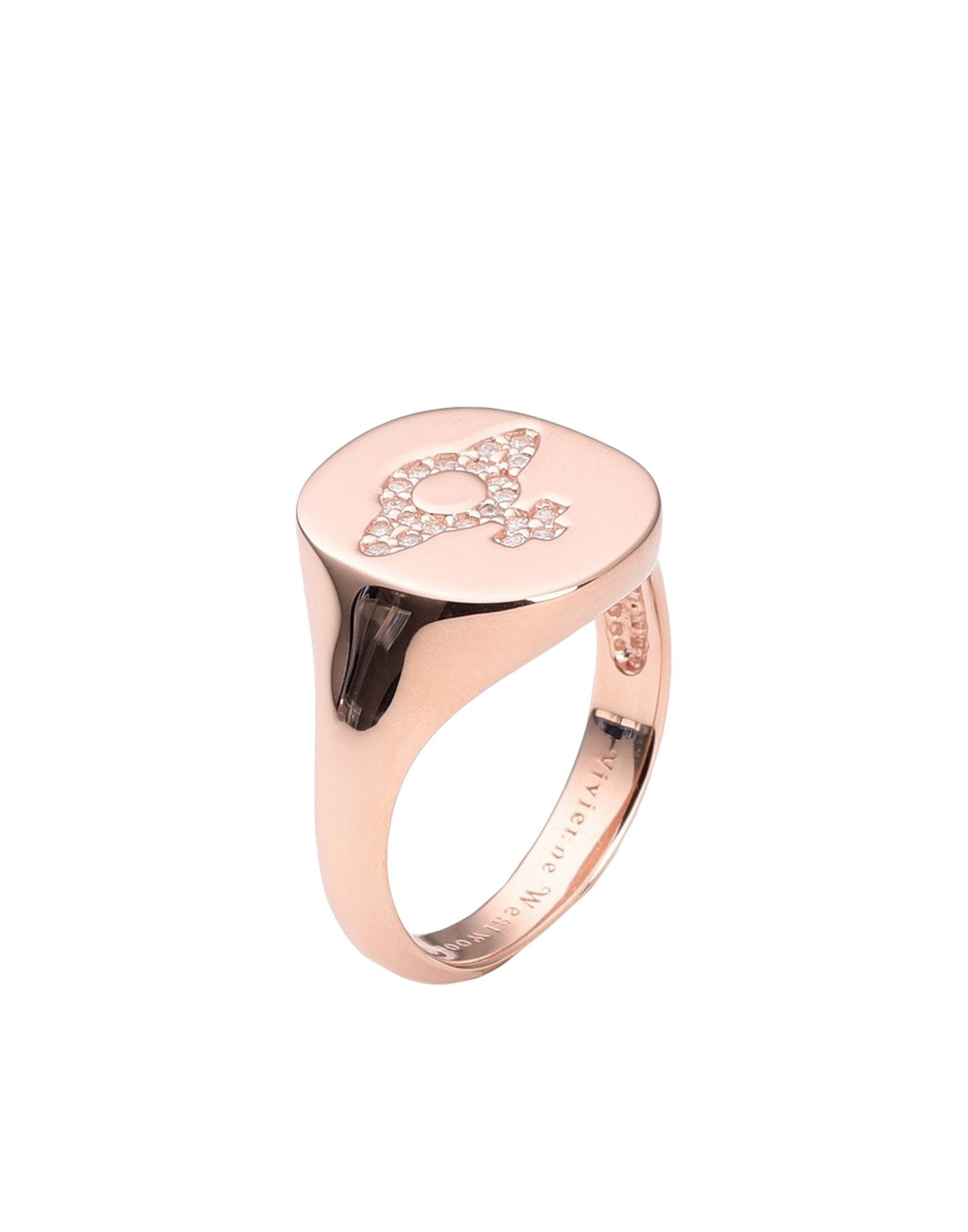 Vivienne Westwood Ring In Copper