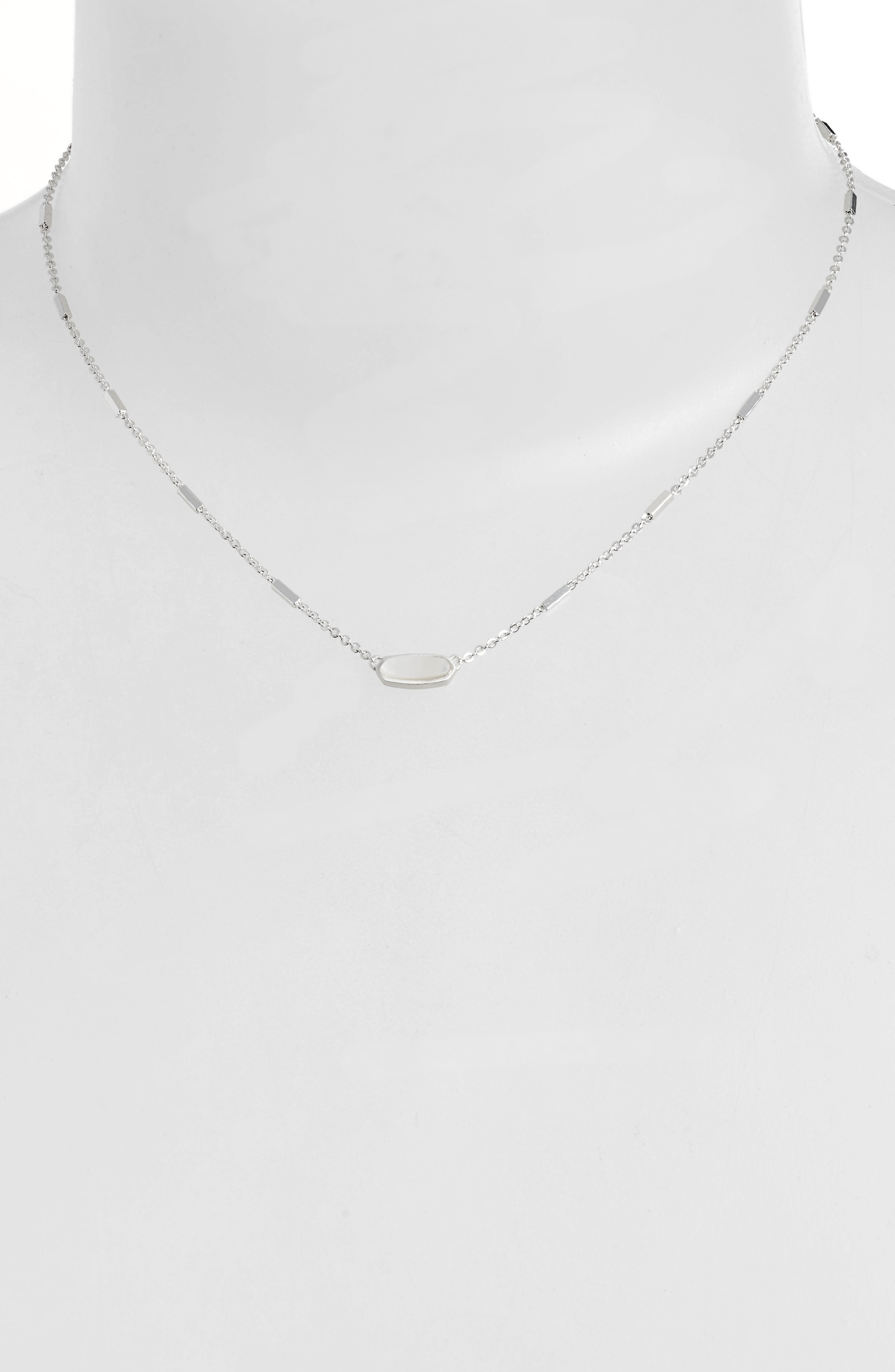 01d69c0160c6d Kendra Scott Miya East/West Pendant Necklace In Ivory Mother Of ...