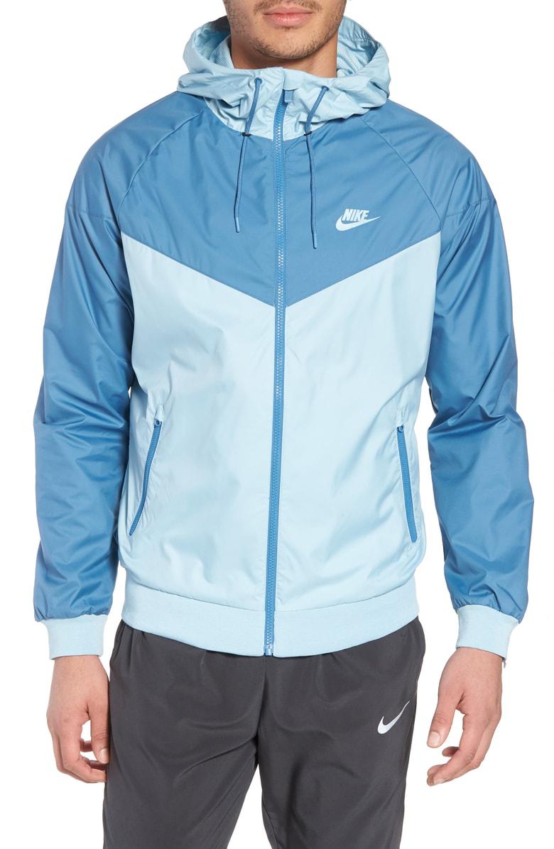4e30085de78b Nike Windrunner Colorblock Jacket In Ocean Bliss  Aegean Storm ...