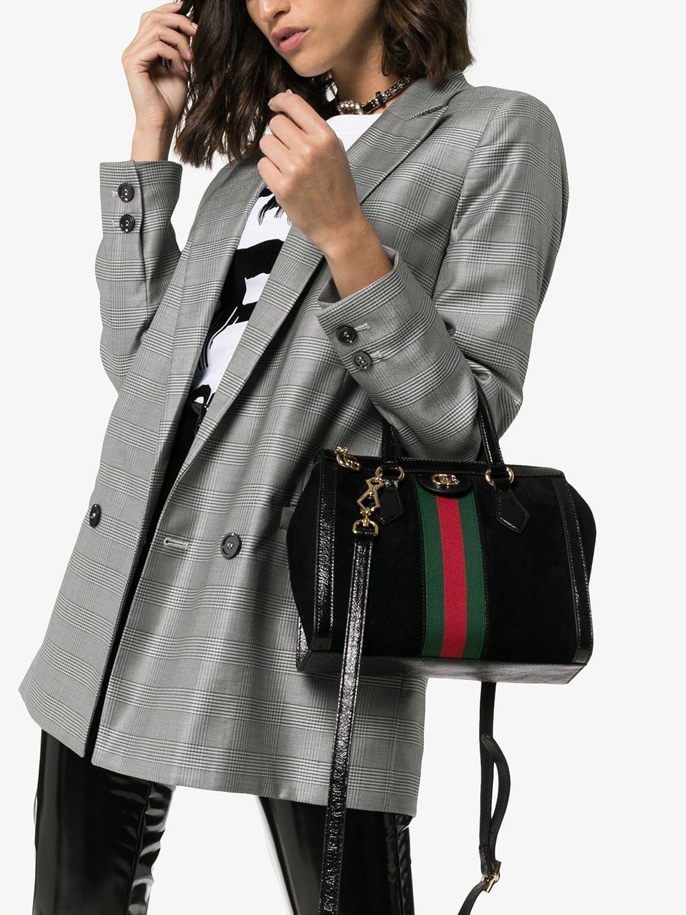 3e303bcc2161 Gucci Ophidia Small Tote Bag In Black | ModeSens
