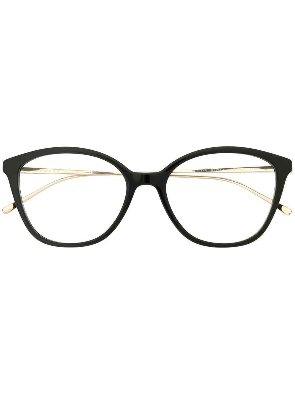 830e1935a7 Prada Eyewear Square-Frame Glasses - Black