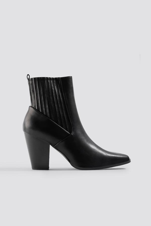 Na-kd Cowboy Boots Black