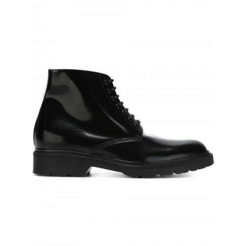 Saint Laurent 'army 20' Boots In Black