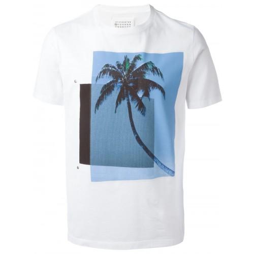 Maison Margiela Palm Tree Print T-shirt