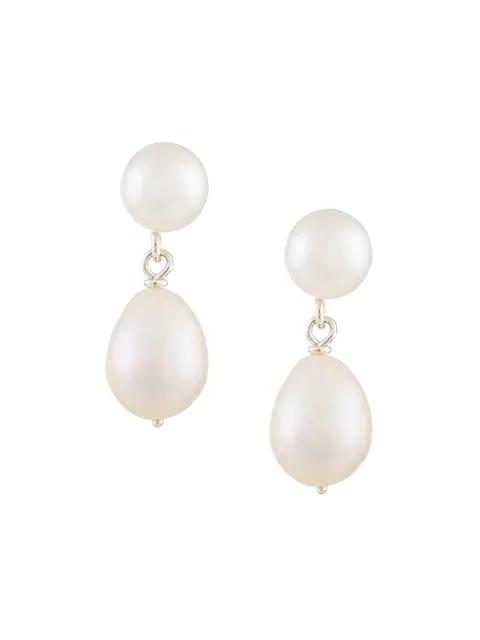 Natasha Schweitzer Mia Earrings In White