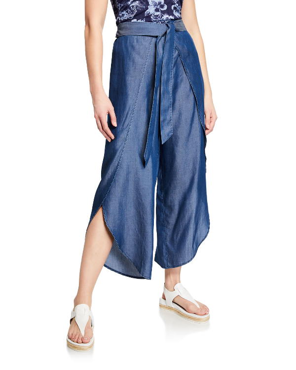 6d23a8615f Tommy Bahama Chambray Beach Swim Cover-Up Pants | ModeSens