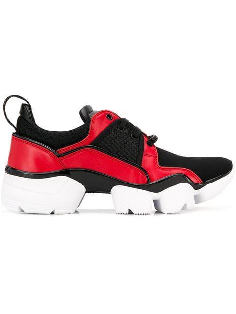 Givenchy Jaw Neoprene, Leather And Mesh Sneakers - Black