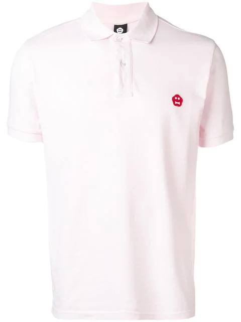Aspesi Basic Polo Shirt In Pink