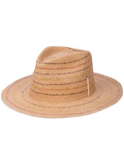 Nick Fouquet Classic Straw Hat - Neutrals