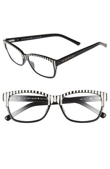 Kate Spade Tenil 52mm Reading Glasses (2 For $88) In Black