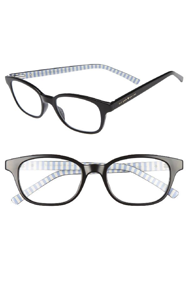 Kate Spade Kya 49mm Reading Glasses - Black
