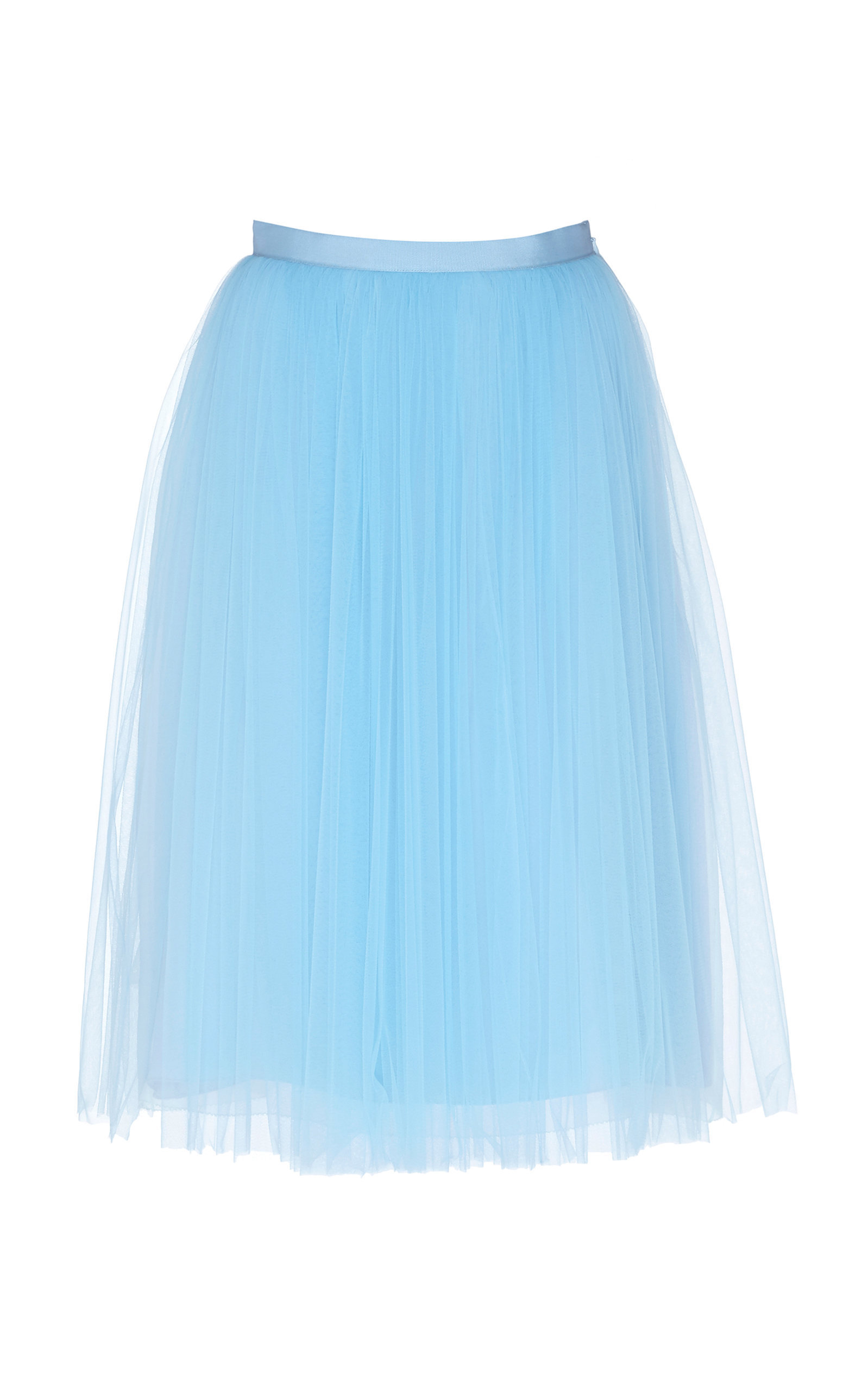aadec74351 Delpozo Layered A-Line Tulle Skirt In Blue   ModeSens