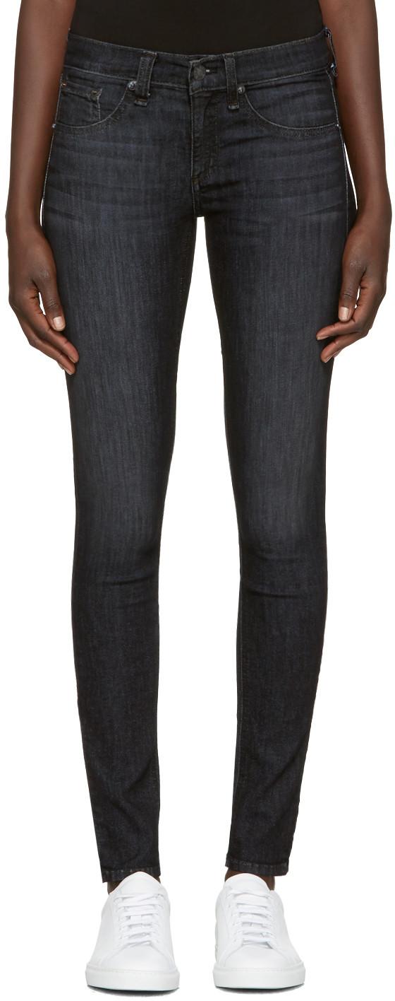 Rag & Bone Rag And Bone Black Skinny Jeans