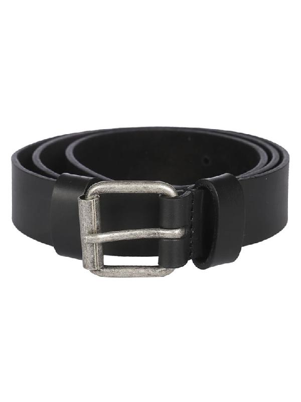 Aspesi Classic Belt In Black