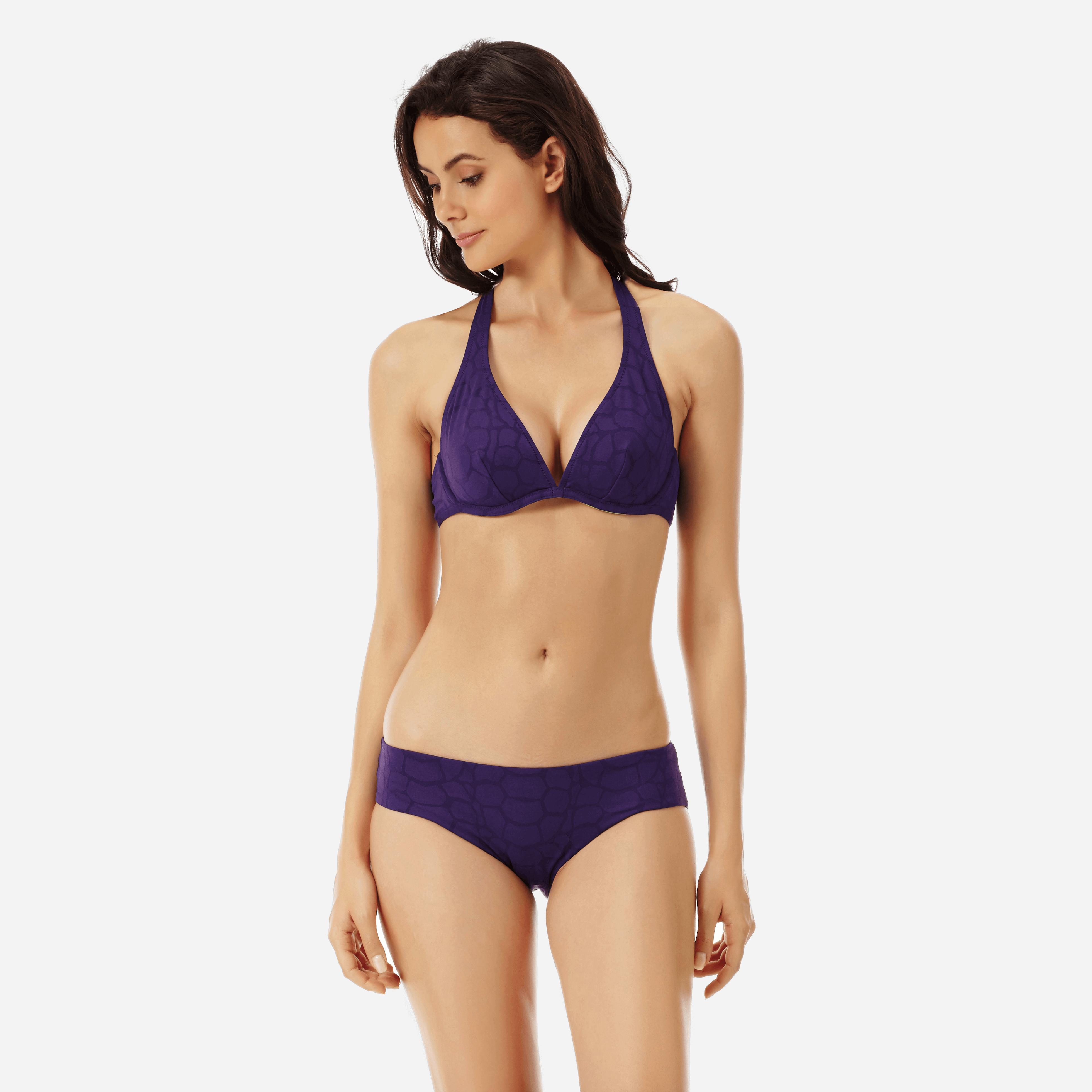 Vilebrequin Women Swimwear - Women Covering Brief Bikini Bottom Ecailles De Tortue - Swimming Trunk - Frisbee In Blue