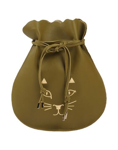 Charlotte Olympia Handbags In Military Green