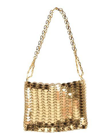 Paco Rabanne Shoulder Bag In Gold
